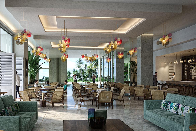 hotel hall contract italian furniture pianca