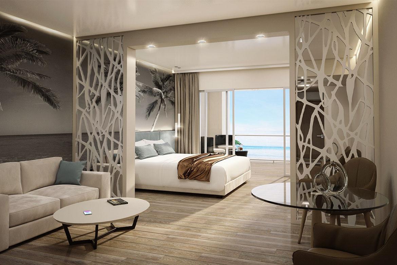 modern italian contract bedroom furniture pianca