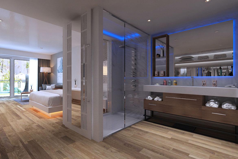hotel trinidad cuba modern italian contract bathroom furniture