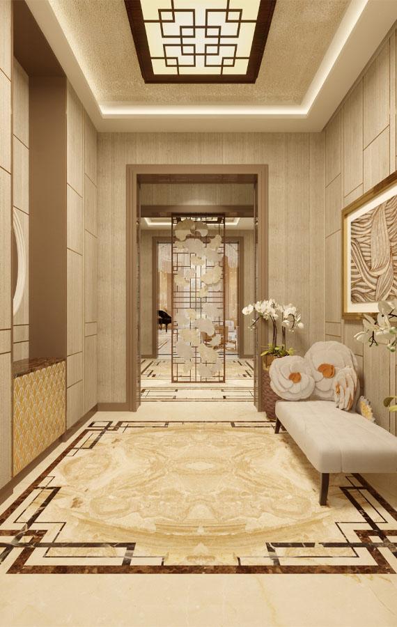 luxury private villa in china