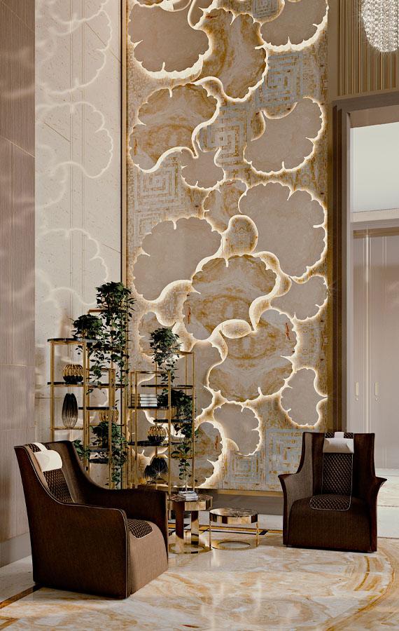 luxury living room contract furniture pianca